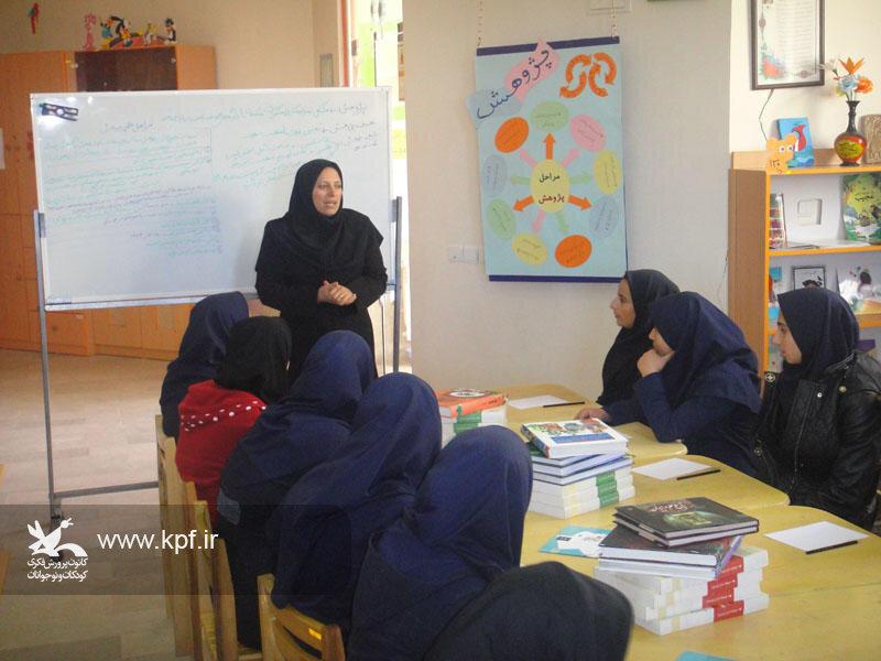 تقدیر از مربیان و نوجوانان فعال در عرصه پژوهش در کانون آذربایجان شرقی