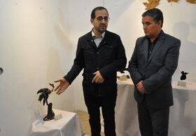 بازدید مدیرعامل کانون پرورش فکری کودکان و نوجوانان از نمایشگاه «آب و آینه»