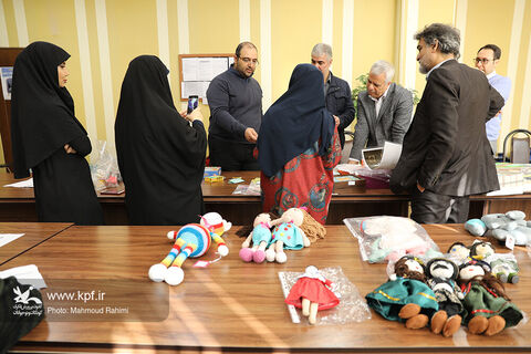 داوری پنجمین جشنواره ملی اسباببازی