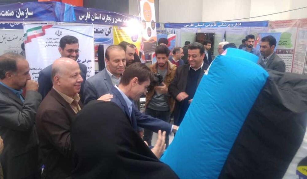 آغاز به کار نمایشگاه دستاوردهای پژوهشی در شیراز