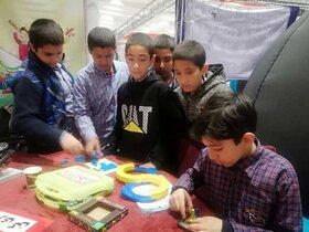 حضور کانون فارس در نمایشگاه دستاوردهای پژوهشی در شیراز