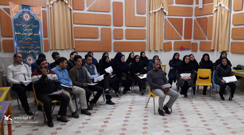 دوره آموزشی«سرود»در کانون استان لرستان