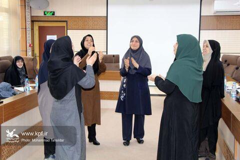 پودمان آموزشی «بازیهای فردی و گروهی» با حضور فرهاد اسماعیلی در قم برگزار شد