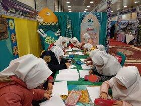غرفه کانون پرورش فکری گلستان در بیست و هشتمین اجلاسیه سراسری نماز کشور در گرگان