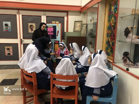 ویژه برنامه هفته پژوهش در مرکز شماره 30 کانون استان تهران