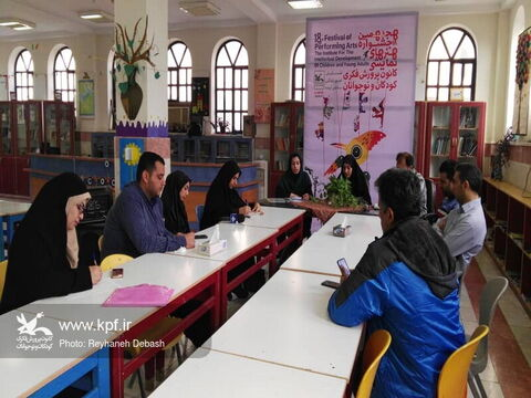 نشست خبری هجدهمین جشنواره هنرهای نمایشی کانون استان بوشهر