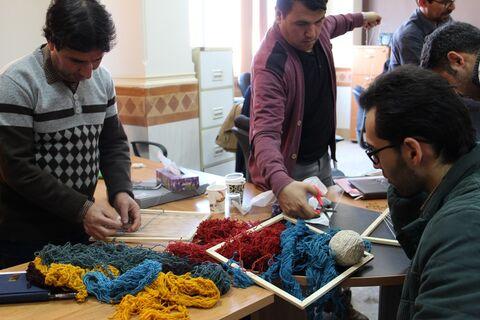 گزارش تصویری دوره آموزشی هنرهای ایرانی