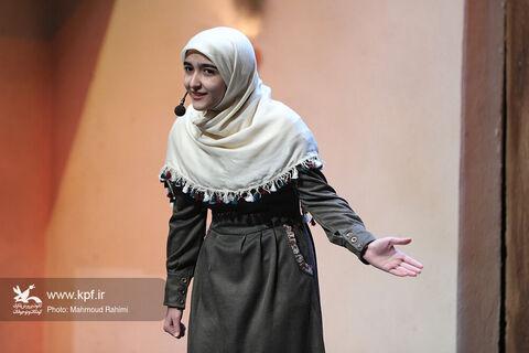 قصهگوهای نوجوان بیستودومین جشنواره بینالمللی قصهگویی