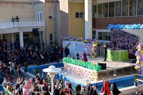 آئین اختتامیه هجدهمین جشنواره هنرهای نمایشی کانون قم