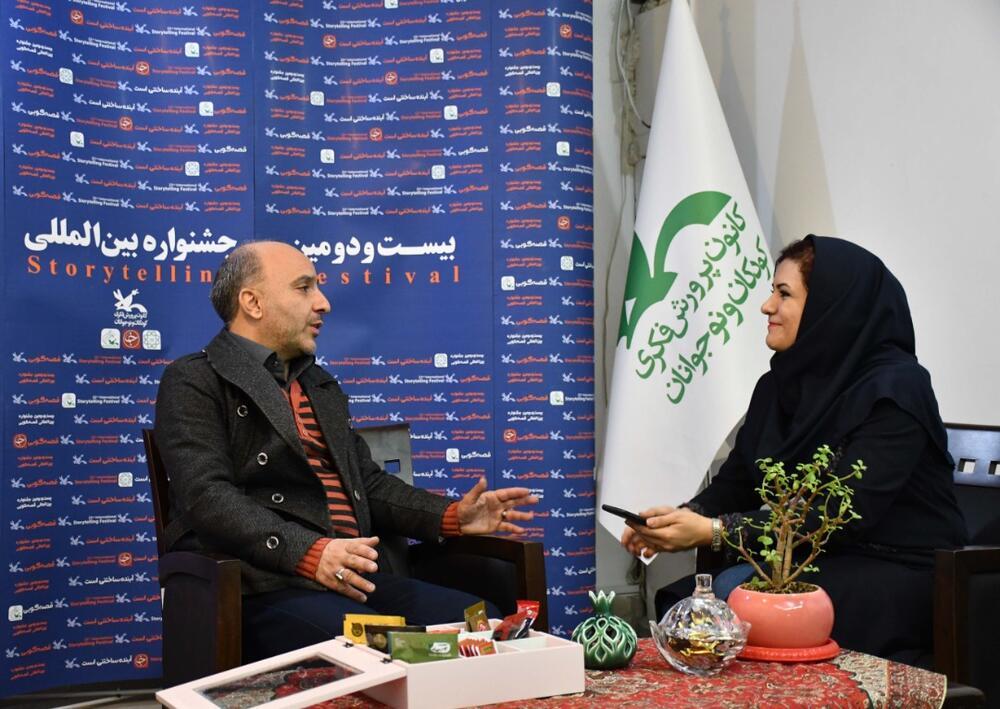 گلچینی از قصههای معروف در اجرای زنده اختتامیه جشنواره قصهگویی