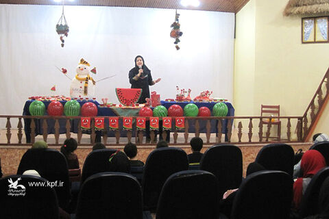 جشن یلدا در مرکز فرهنگی هنری کانون لنگرود