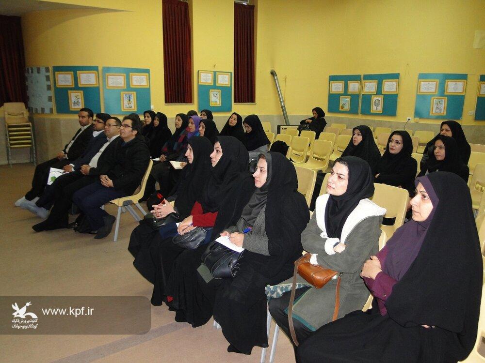 کارگاه آشنایی با تراریخته ها در کانون پرورش فکری اصفهان برگزار شد