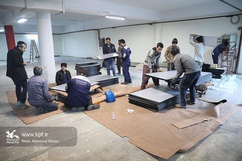 آمادهسازی پنجمین جشنواره ملی اسباببازی