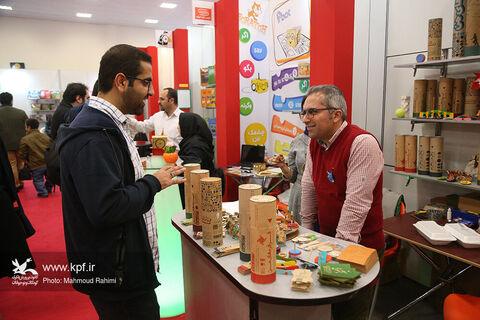 دومین روز پنجمین جشنواره ملی اسباببازی