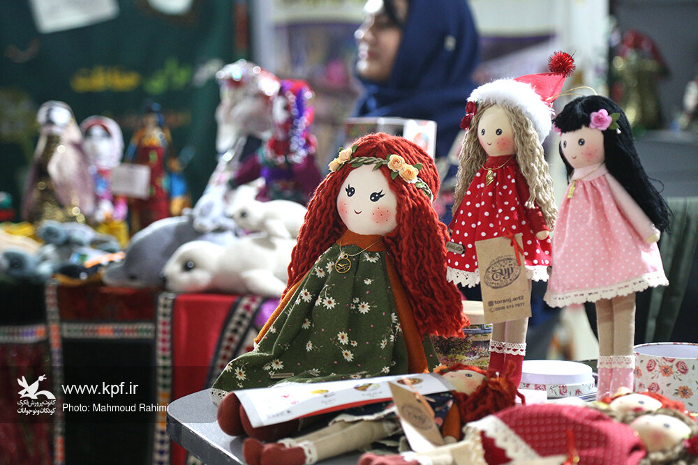 نگاه ویژه پنجمین جشنواره ملی اسباببازی به عروسکهای ایرانی