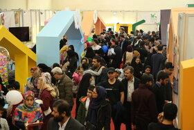 استقبال خانوادهها از پنجمین جشنواره ملی اسباببازی در روز ششم
