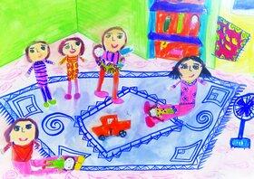 دیپلم افتخار کودک تبریزی از مسابقه نقاشی تاشکند کشور ازبکستان