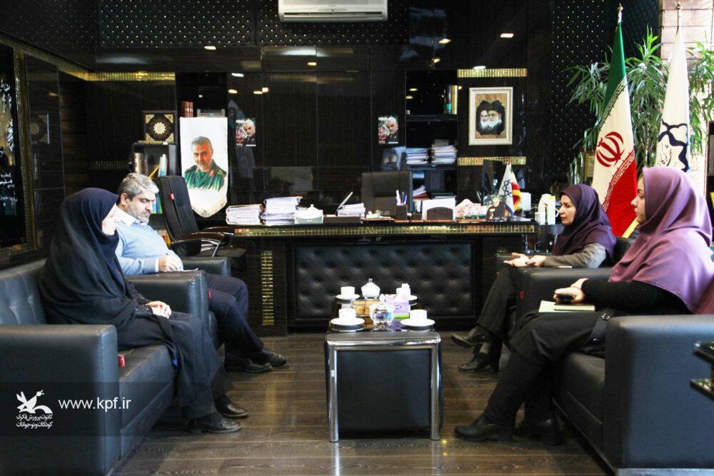 توسعه فعالیت های حوزهی کودک و نوجوان با مشارکت شهرداری گرگان