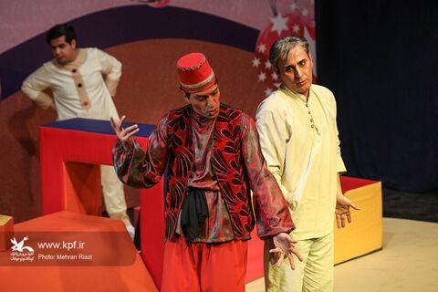 نمایش «هفت خان کودکان»