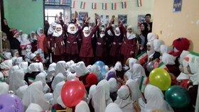 برگزاری مراسم گلبانگ انقلاب با حضور مربیان کتابخانههای سیار گرگان