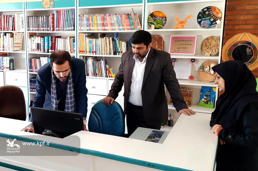 حضور مدیرکل دفتر فناوری اطلاعات و تحول اداری کانون در البرز