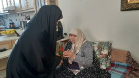 دیدار مربیان و اعضای مراکز یک و آببر زنجان با خانواده شهدا