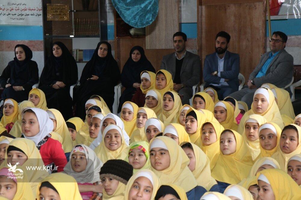 فعالیت پیک امید کانون در شهرک طرق مشهد