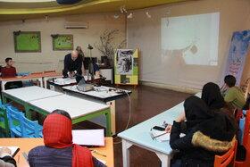 دومین جلسه انجمن خوشنویسان در مرکز ۱۵ برگزار شد