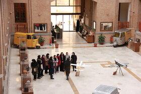 بازدید اعضای مکاتبهای کانون استان تهران از موزه پست و ارتباطات