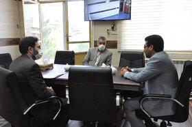 دیدار مدیرکل کانون استان اردبیل با فرمانداران شهرستانهای مرزی پارسآباد و بیلهسوار