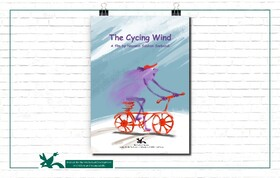 "Cycling Wind"", an animation directed by Nazanin Sobhani Sarbandi,"