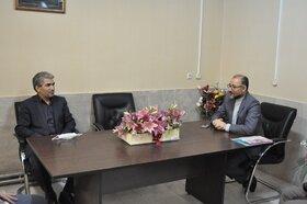 دیدار مدیرکل کانون پرورش فکری زنجان با روئسای نواحی ۱ و ۲ آموزش و پرورش استان
