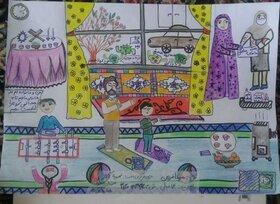 برندگان بخش نقاشی مسابقه «خانه دوستداشتنی»