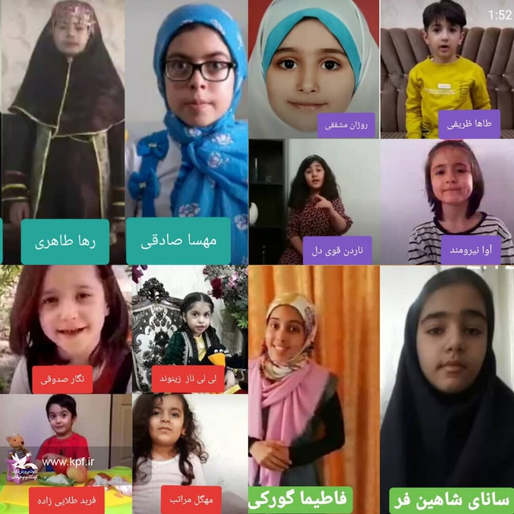 معرفی برگزیدگان نخستین مسابقه سراسری قصهگویی مجازی«زیرگنبد کبود»