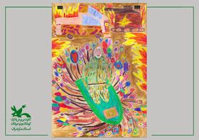 عضو کانون پرورش فکری مازندران  برگزیده مسابقه هنری «همچون پدر، مهربان» شد