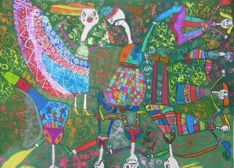 ایلیا چراغی 8 ساله از مرکز 2 کرمانشاه برگزیده مسابقه نقاشی بلاروس