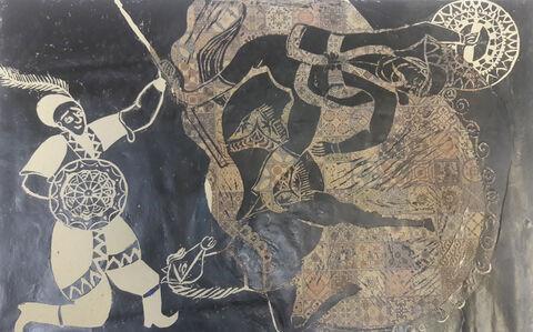 ساناز مرادی 13 ساله از مرکز آفرینشهای تهران برگزیده مسابقه نقاشی بلاروس