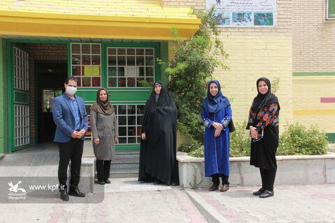 بازدید مدیر کل کانون استان تهران از مرکز فرهنگی هنری اندیشه