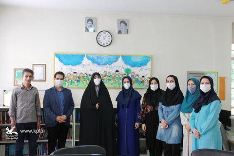 بازدید مدیر کل کانون استان تهران از مرکز فرهنگی هنری شهریار