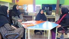 نشست مدیرکل کانون استان قزوین با مسوول مرکز فرهنگی و هنری مجتمع