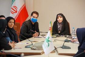 برگزاری نشست صمیمانه مدیرکل کانون استان تهران با مربیان هنری مراکز