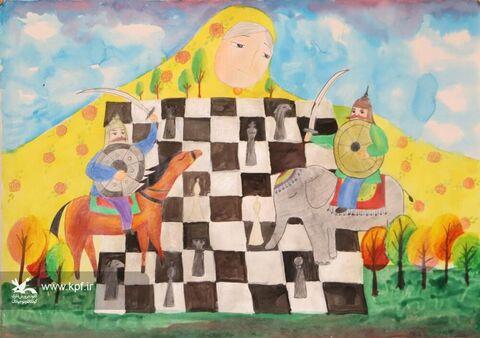 آثار اعضای کانون گلستان جهت شرکت در دومین همایش بینالمللی شاهنامه و کودک