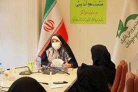 نشست صمیمانه مدیر کل و مسئولین مراکز کانون استان تهران  با رعایت پروتکل های بهداشتی به تفکیک، در پنج روز مجزای کاری  (بیست و چهارم تیر ماه)