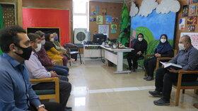 نخستین نشست کتابخوانی در کانون استان قزوین
