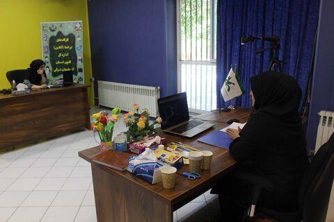 آغاز آموزش در 13 کارگاه برخط(|آنلاین) کانون آذربایجان شرقی