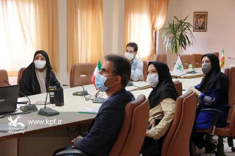 نشست مدیر کل کانون استان تهران با  حضور مهندس سلیمانی رئیس گروه علمی ، فرهنگی و آموزشی سازمان مدیریت برنامه و بودجه استان تهران