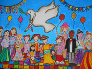 Kanoon Members Shined in Peace and Friendship Painting Festival