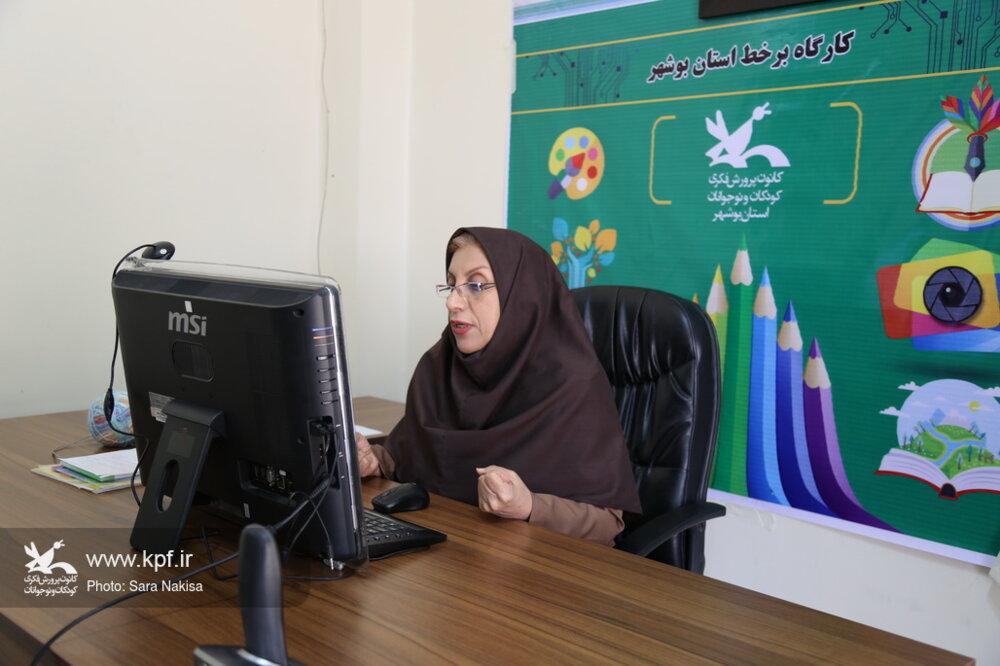 استقبال چشم گیر کودکان و نوجوانان بوشهری از کارگاههای برخط استانی