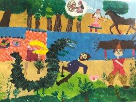 نمایشگاه مجازی آثار مسابقه تصویرگری شاهنامه و کودک
