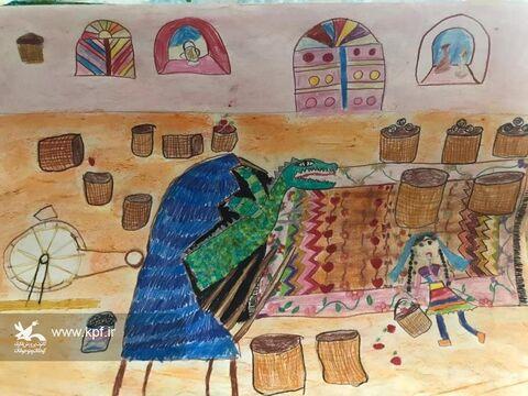 یکتا کیال 9 ساله از مرکز فردوس